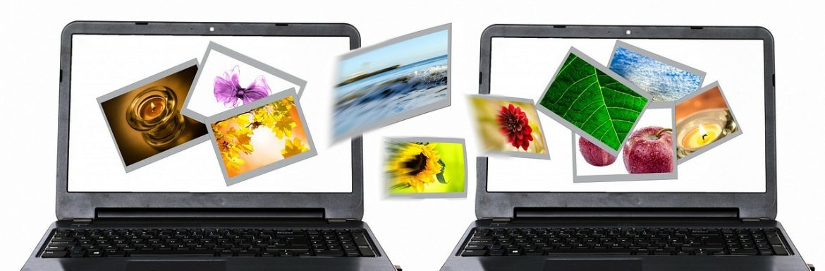 Laptops to illustrate a blogpost about Giving a Talk or Presentation on Facebook Live