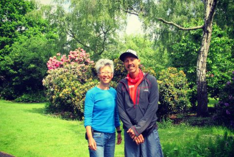 Yang-May Ooi (L) and Kristian Morgan (R) - South London Voices podcast