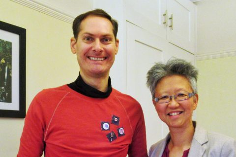 David Anthony and Yang-May Ooi - South London Voices podcast