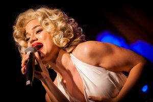 Stephanie van Driesen in Marilyn & Me