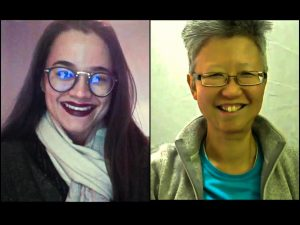 Stephanie van Driesen talking with Yang-May Ooi on Creative Conversations podcast